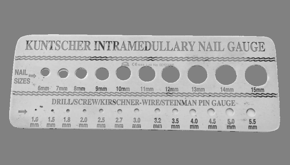 Intramedullary Nail Instruments