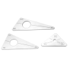 Triangular Positioning Plate set of 3